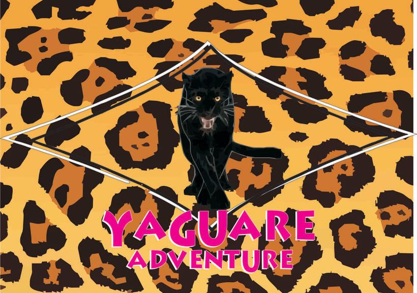 Logotipo Original Yaguare. 1