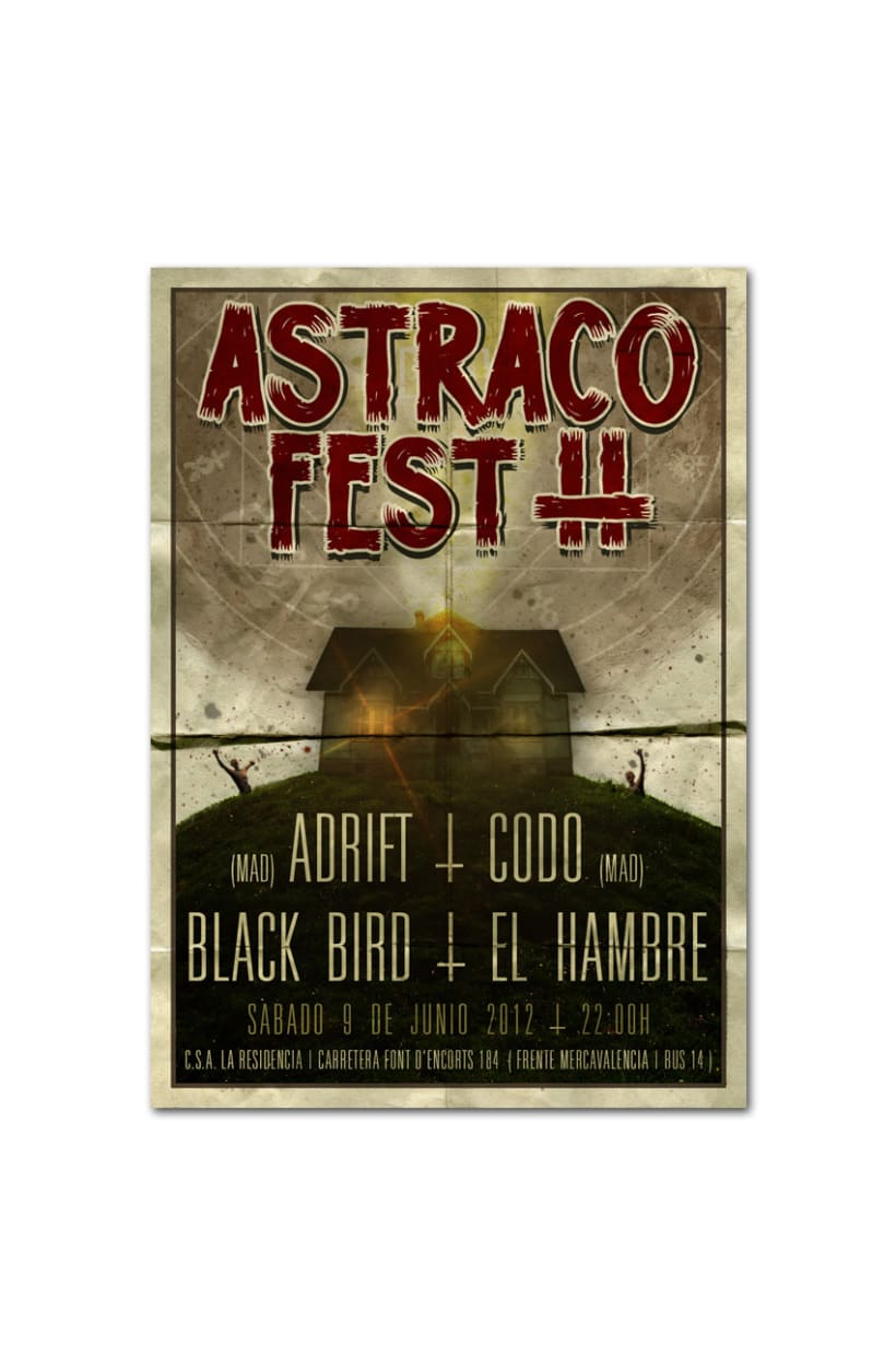 ASTRACO FEST 2012 | poster + flyer 2