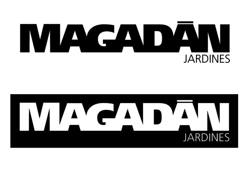 Logotipo para jardinero 1