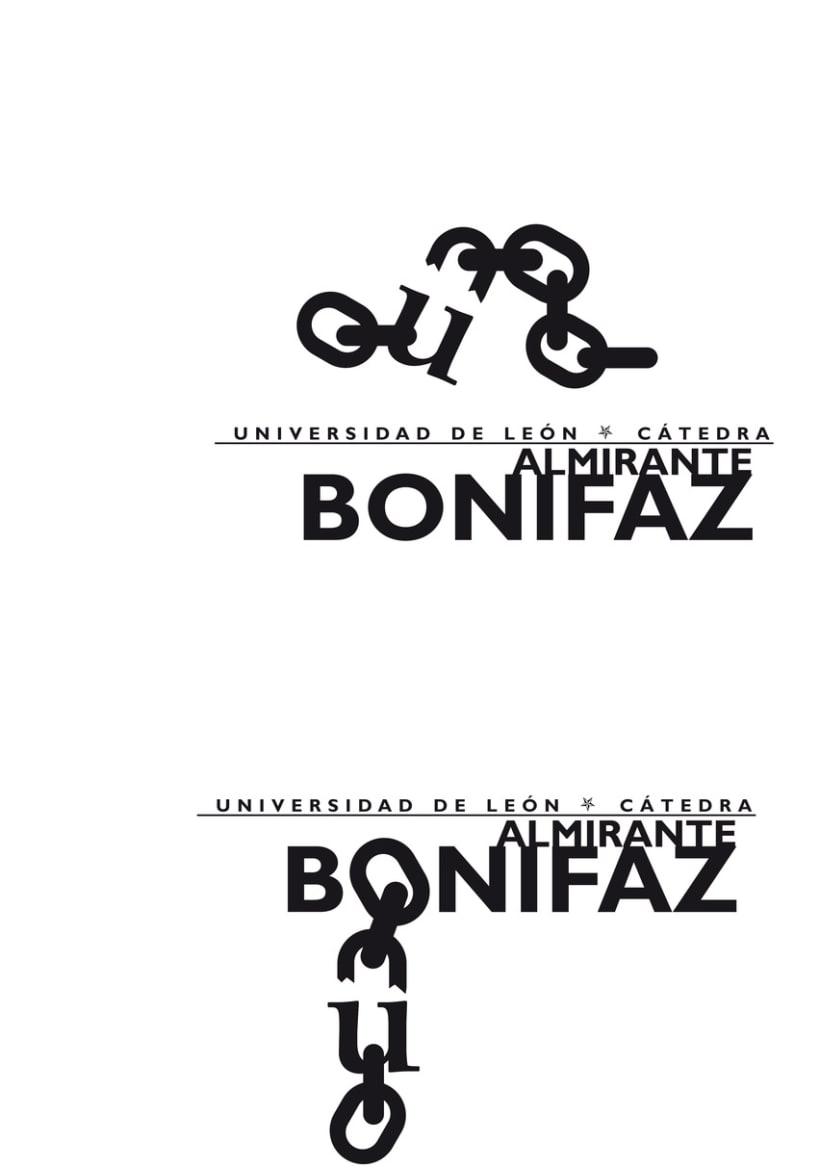 Logotipo Cátedra Almirante Bonifaz 2