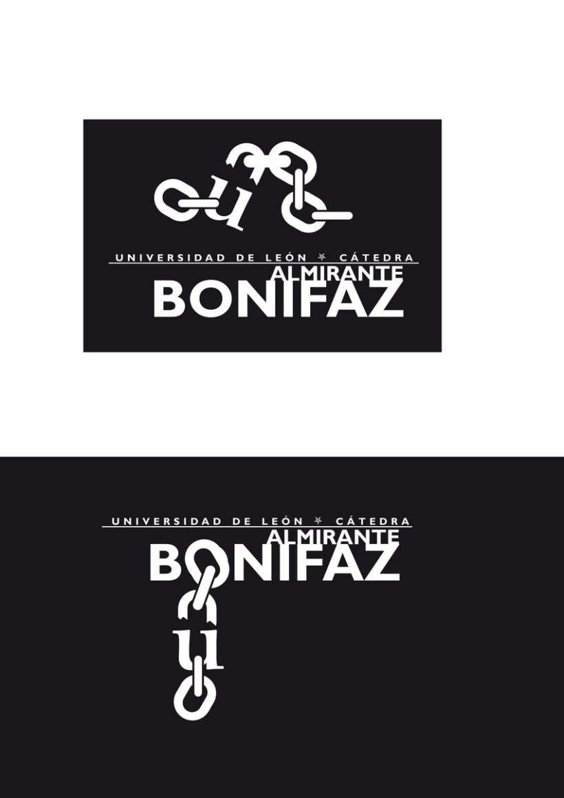 Logotipo Cátedra Almirante Bonifaz 4