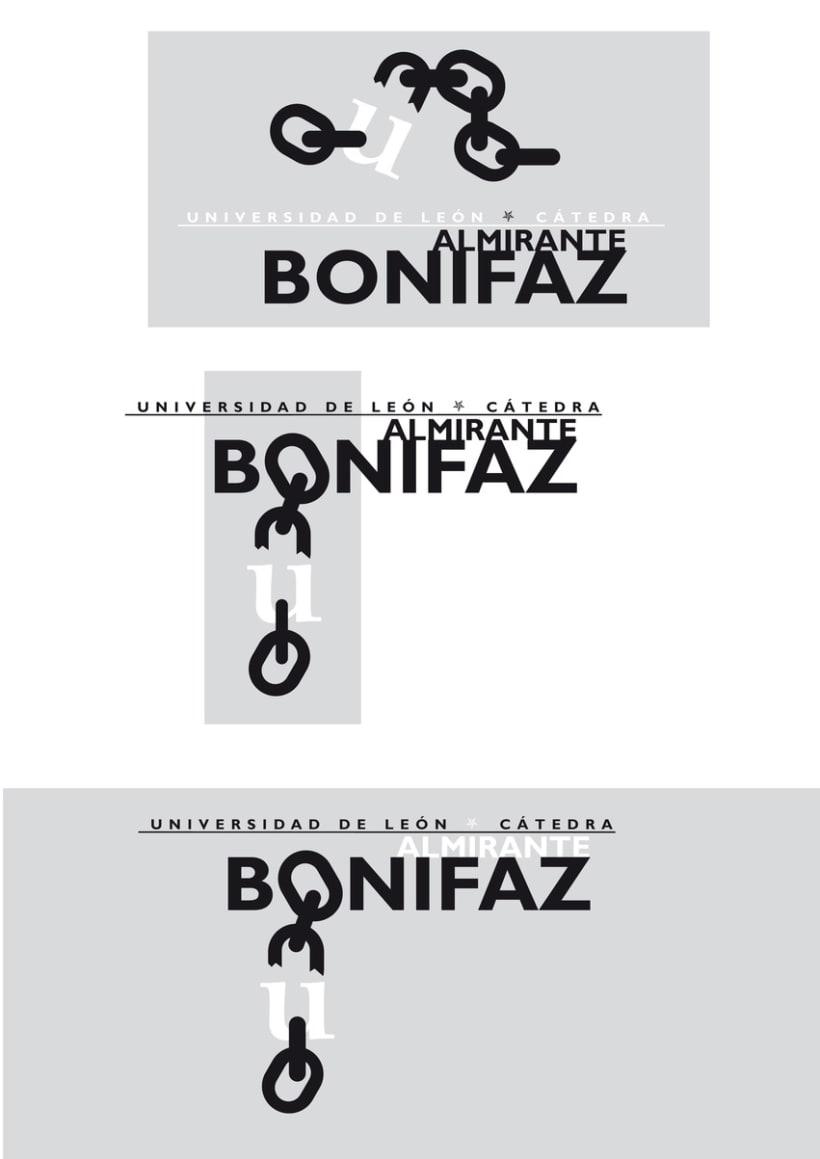 Logotipo Cátedra Almirante Bonifaz 5