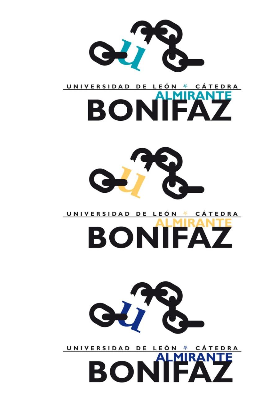 Logotipo Cátedra Almirante Bonifaz 6