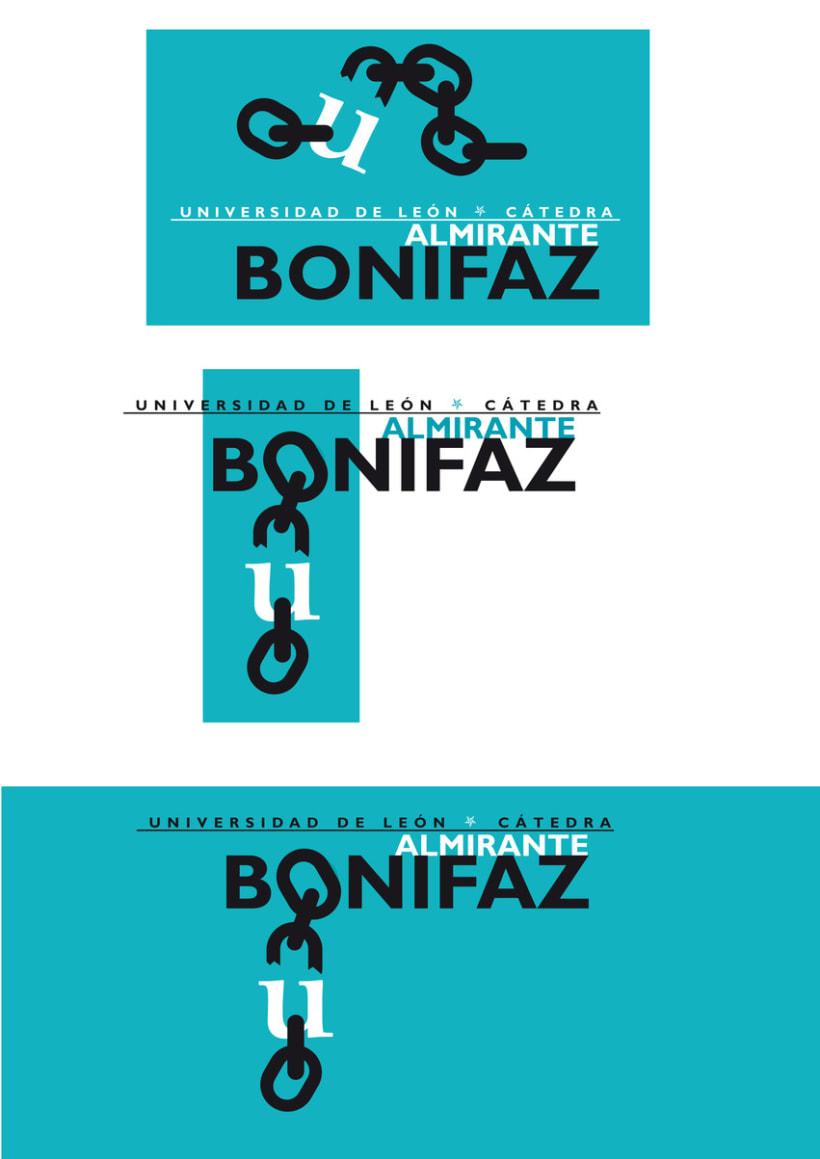 Logotipo Cátedra Almirante Bonifaz 7