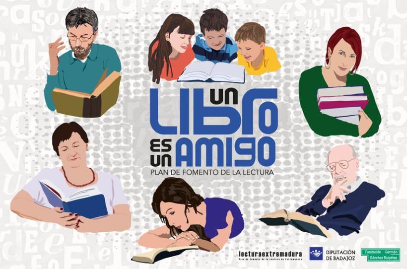 Imagen Plan de Fomento de la Lectura de Badajoz 1
