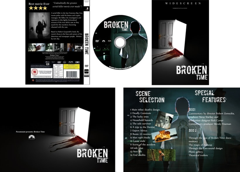 DVD CD, Portada  1