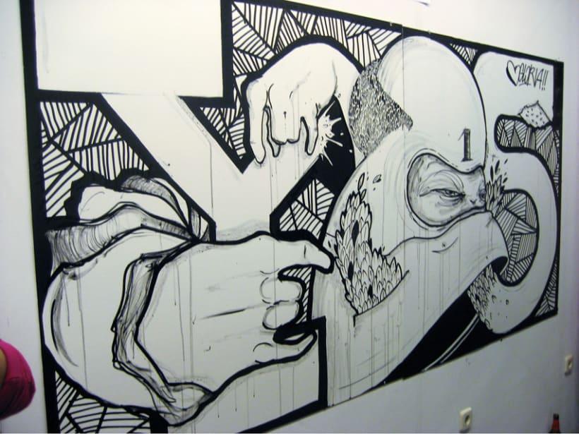 Batalla de Arte en GLORIA 11