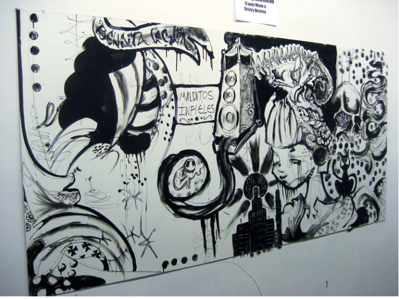 Batalla de Arte en GLORIA 15