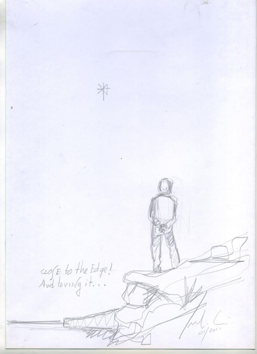 """Pinturemas""...bocetos para un proyecto 25"