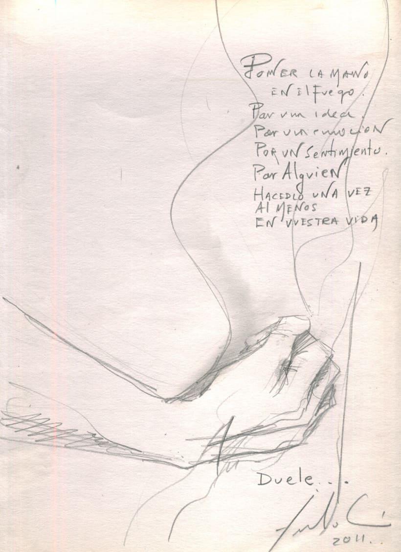 """Pinturemas""...bocetos para un proyecto 21"