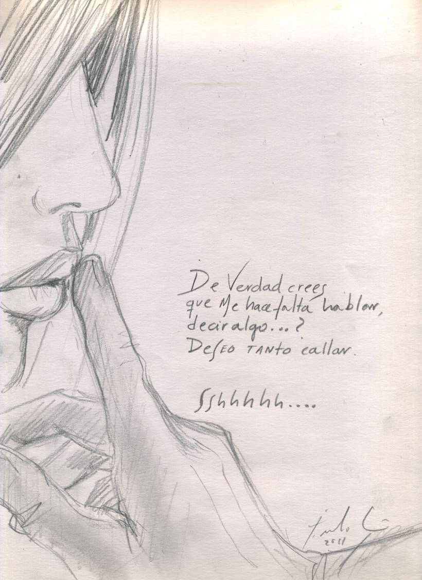 """Pinturemas""...bocetos para un proyecto 3"