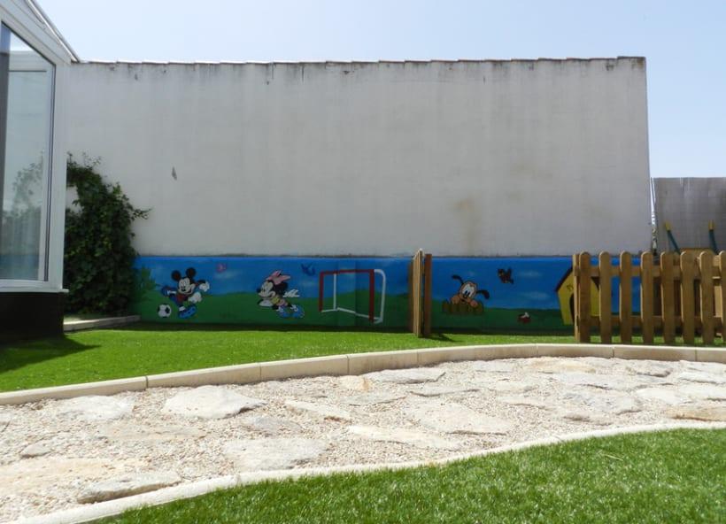 Mural exterior de Disney 4