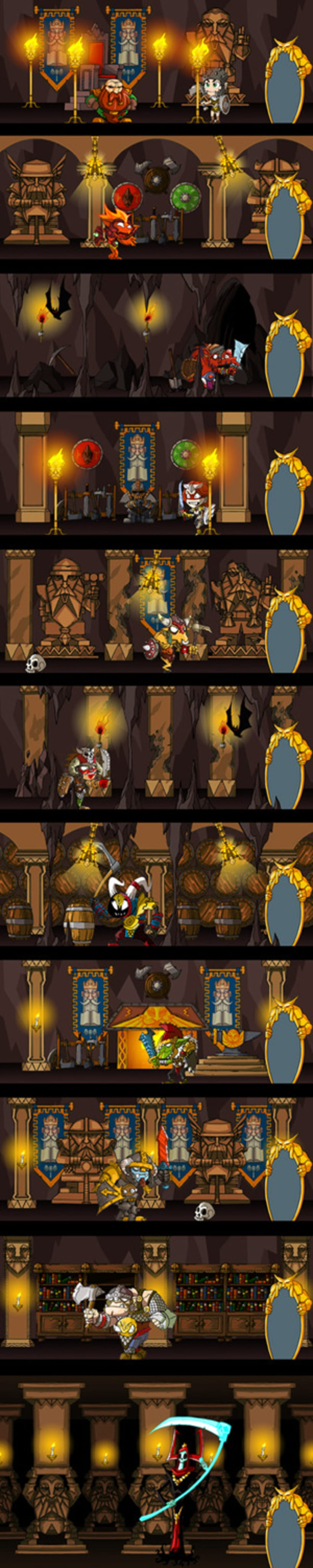 Juego Android. Cave Legends 3