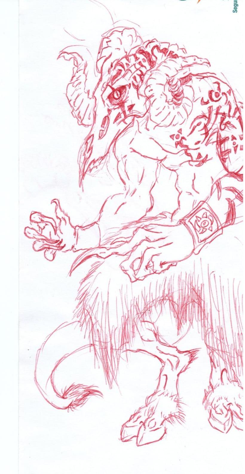 varios dibujos a boli 8