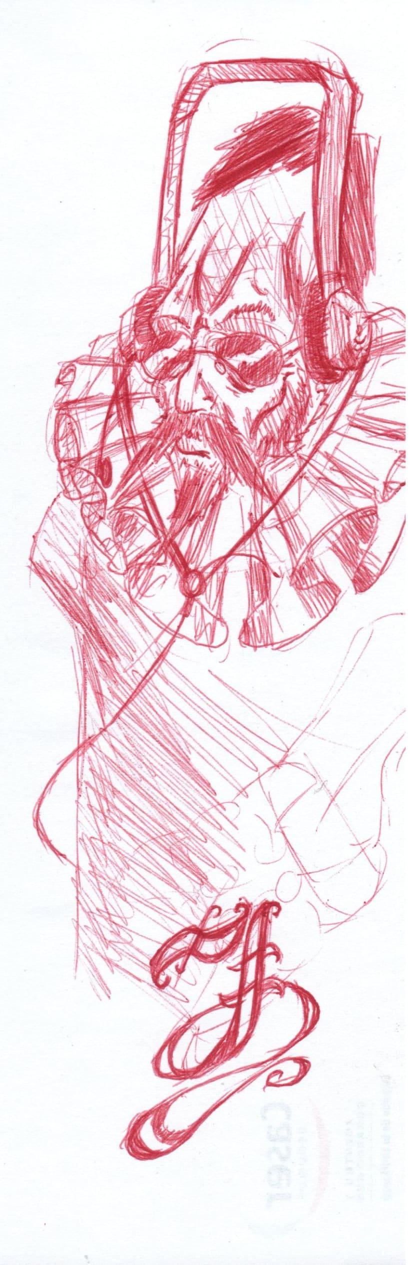 varios dibujos a boli 2