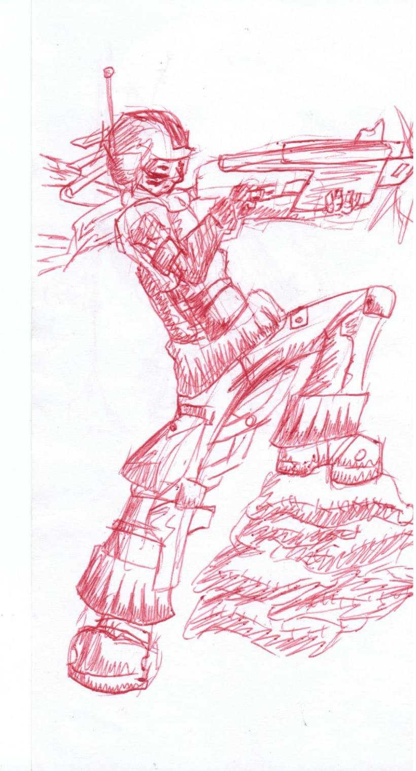 varios dibujos a boli 7