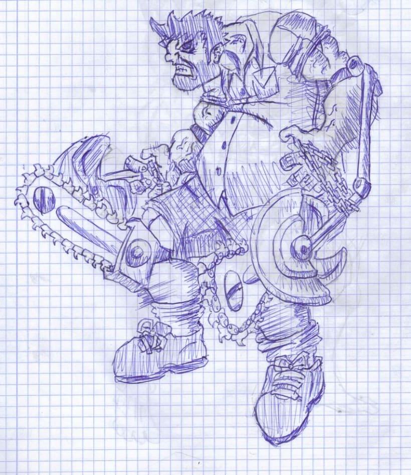 varios dibujos a boli 3