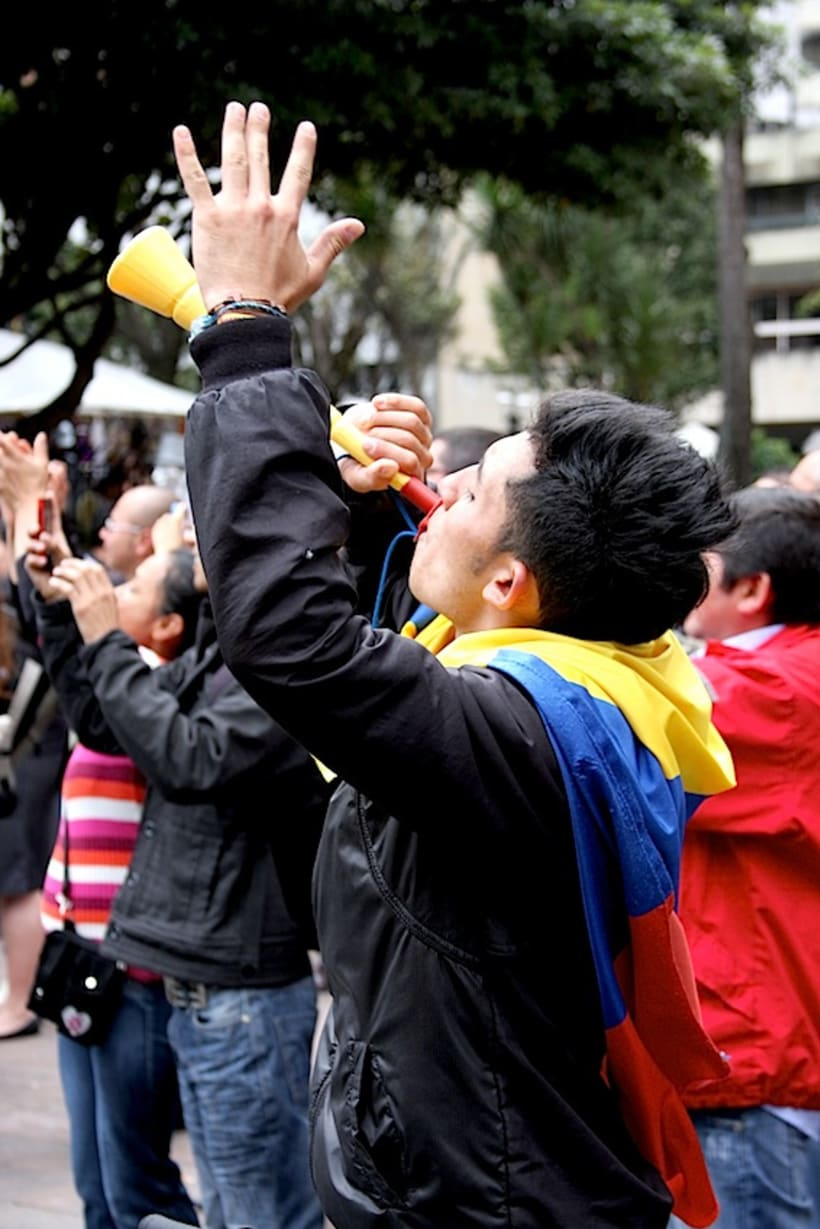 Multitudinario recibimiento a los medallistas en Bogotá DC 4