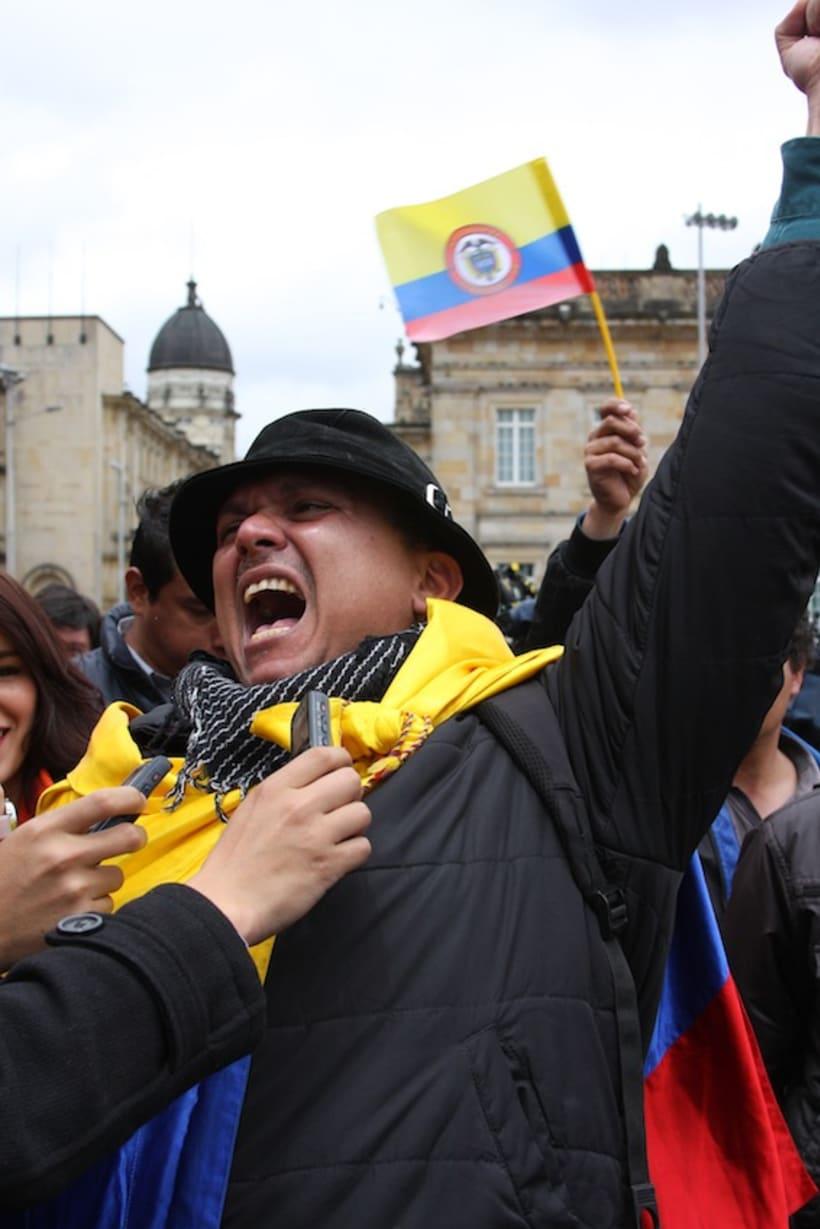 Multitudinario recibimiento a los medallistas en Bogotá DC 8
