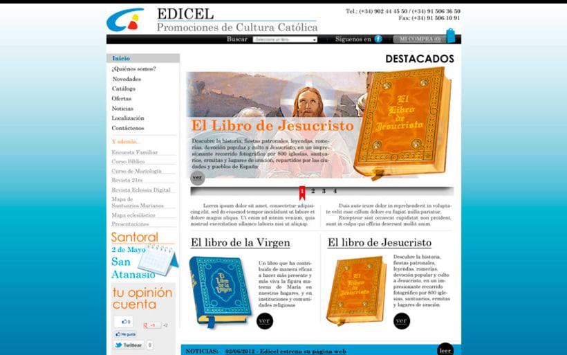 Pagina web EDICEL 1
