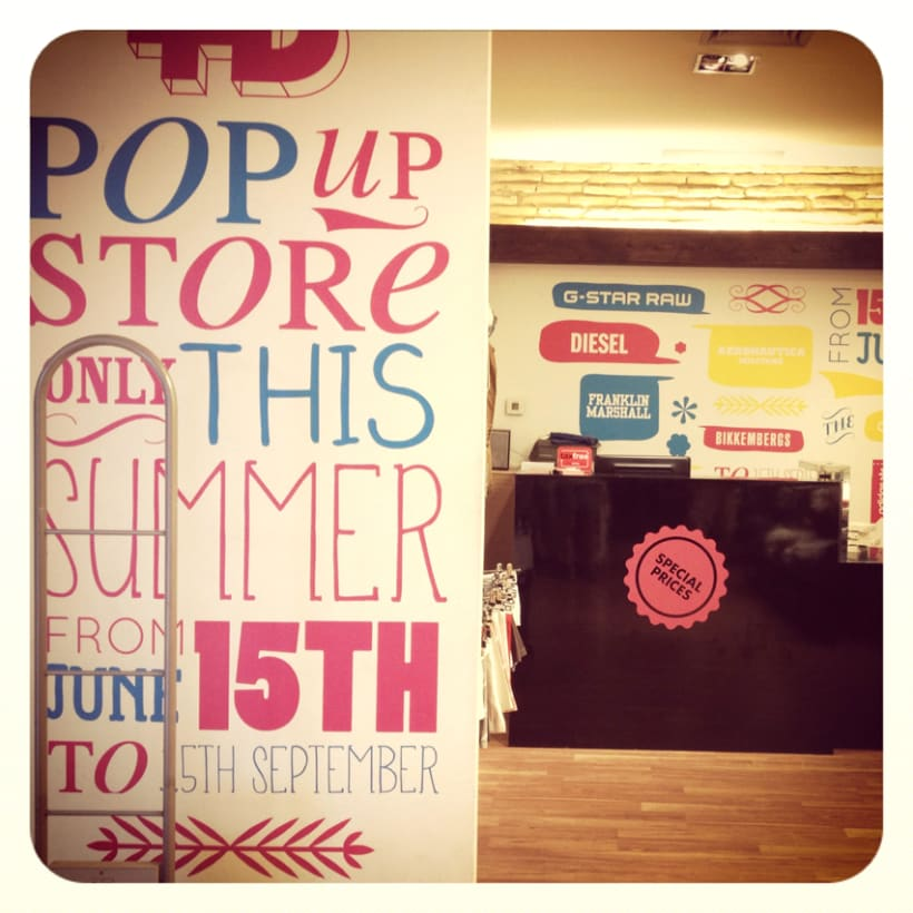 Lettering Pop Up store 4