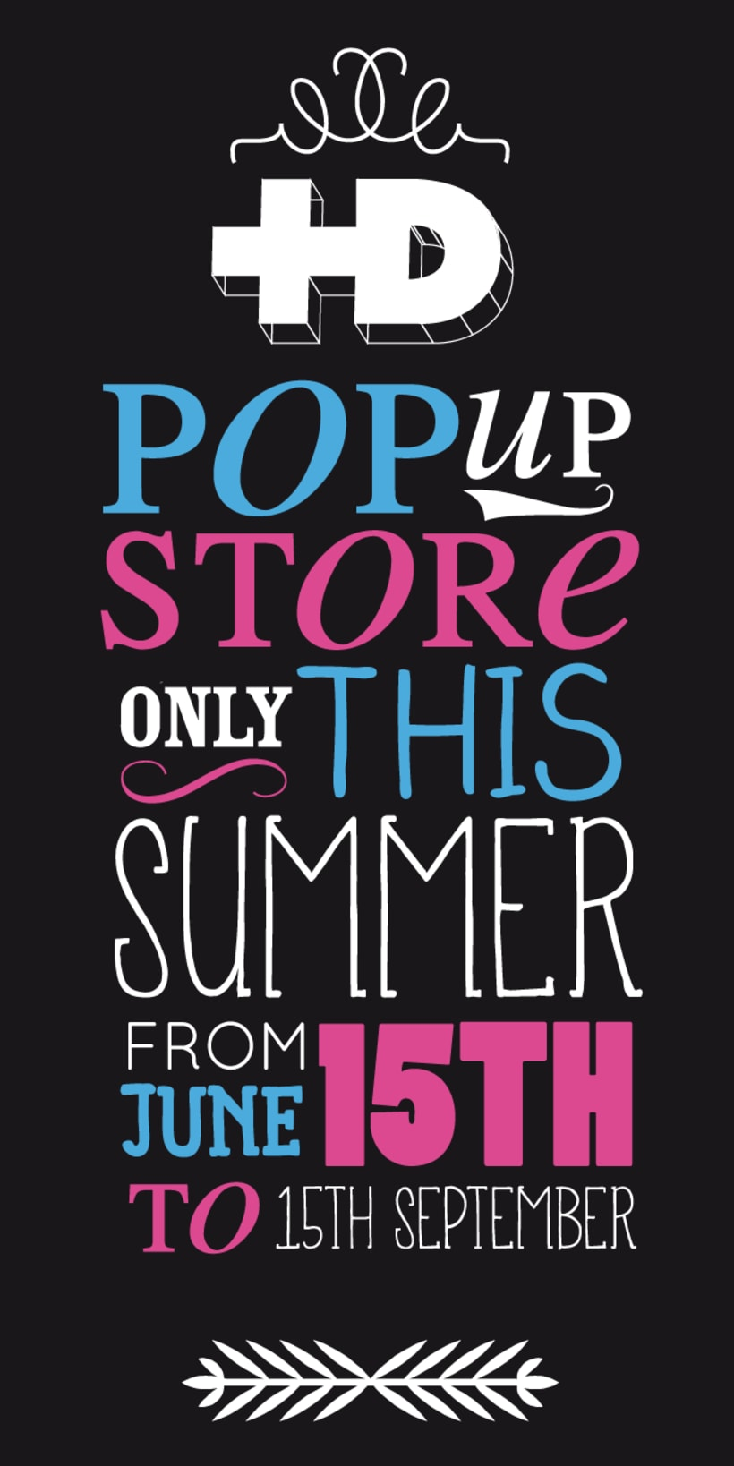 Lettering Pop Up store 2