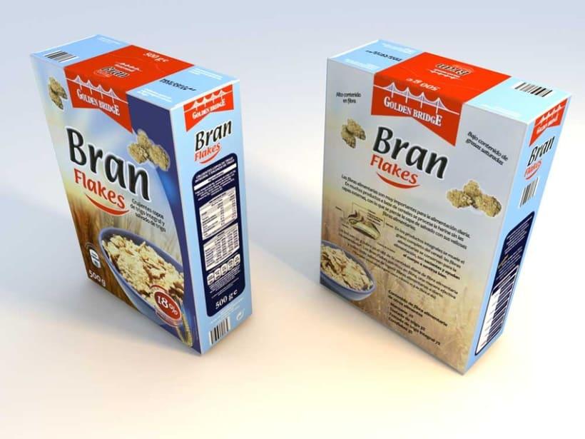 Reproducción de envase de cereales 1