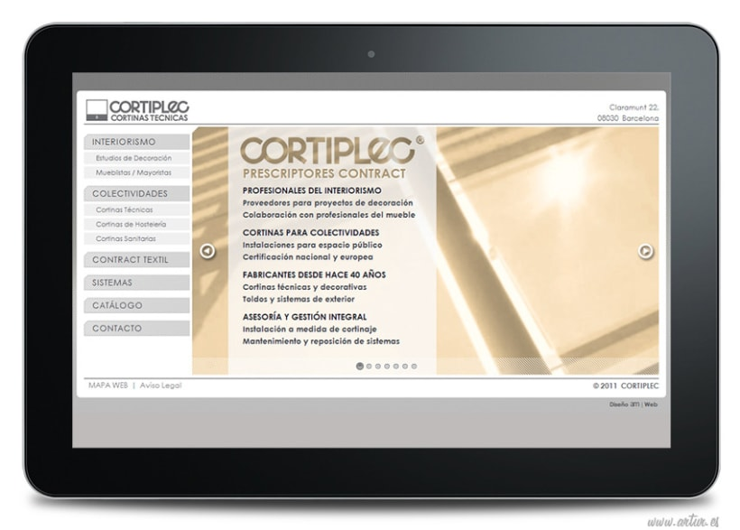 CORTIPLEC Cortinas Técnicas 15