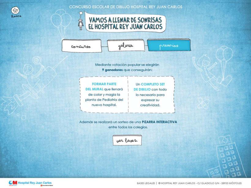 Web y Mailing Hospital Rey Juan Carlos 4
