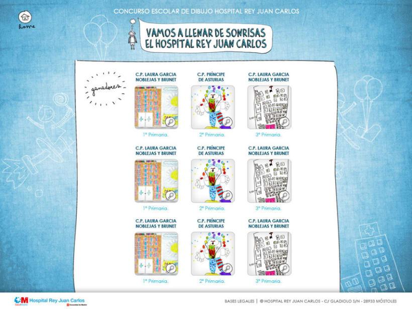 Web y Mailing Hospital Rey Juan Carlos 5