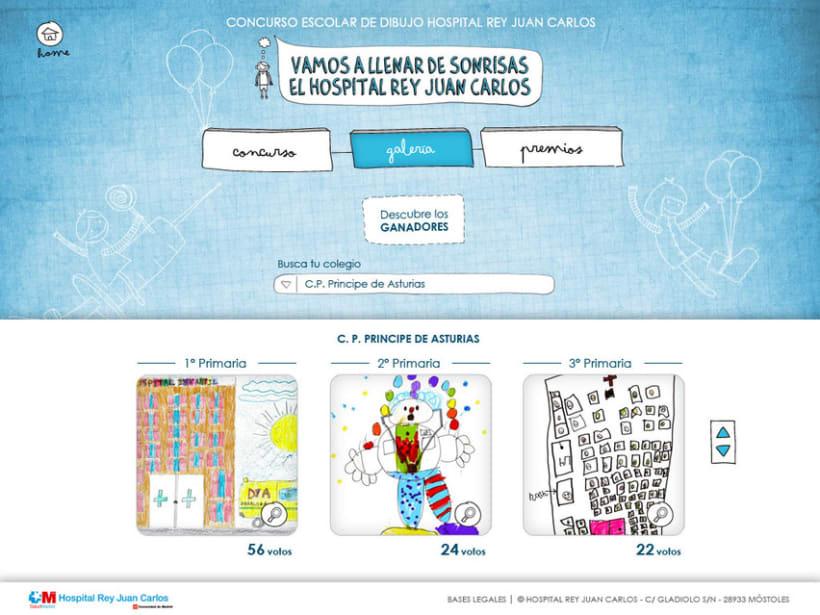 Web y Mailing Hospital Rey Juan Carlos 3