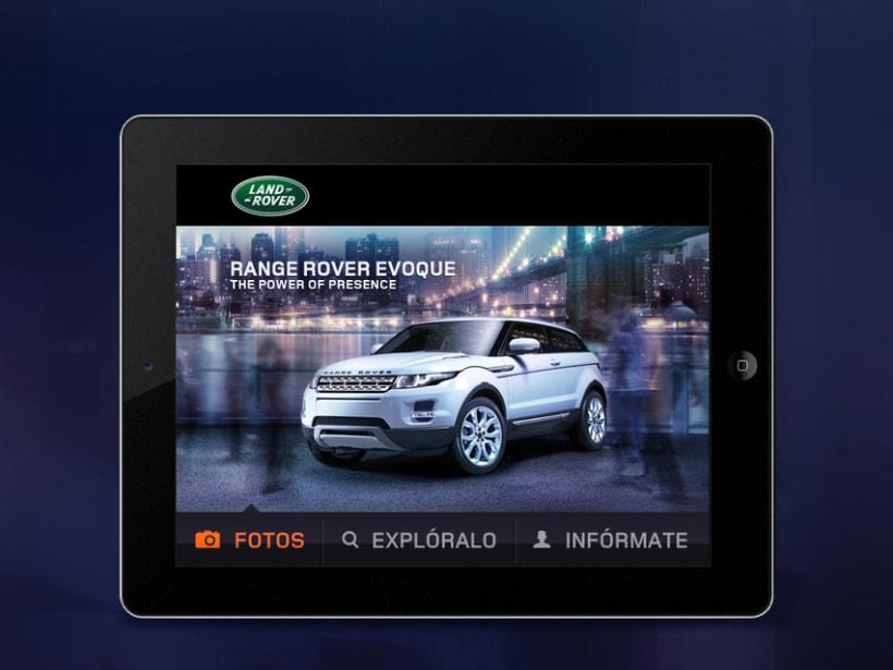 RR Evoque mobile web 3