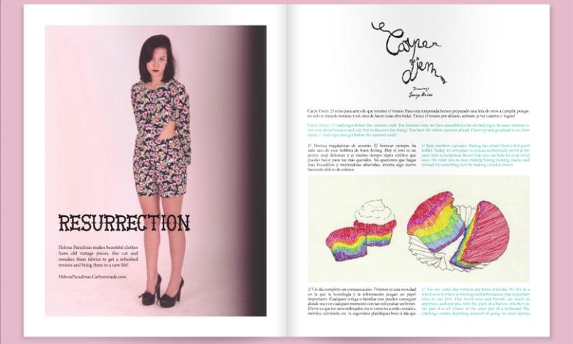 carpe diem (illustrations)–Ruby Star, Issue 2 3