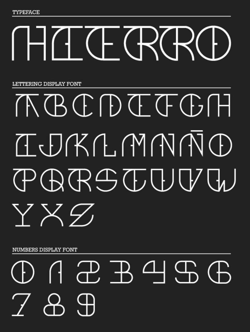 Hierro font 2