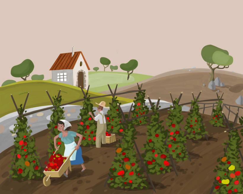 Ilustracion productos ecologicos 1