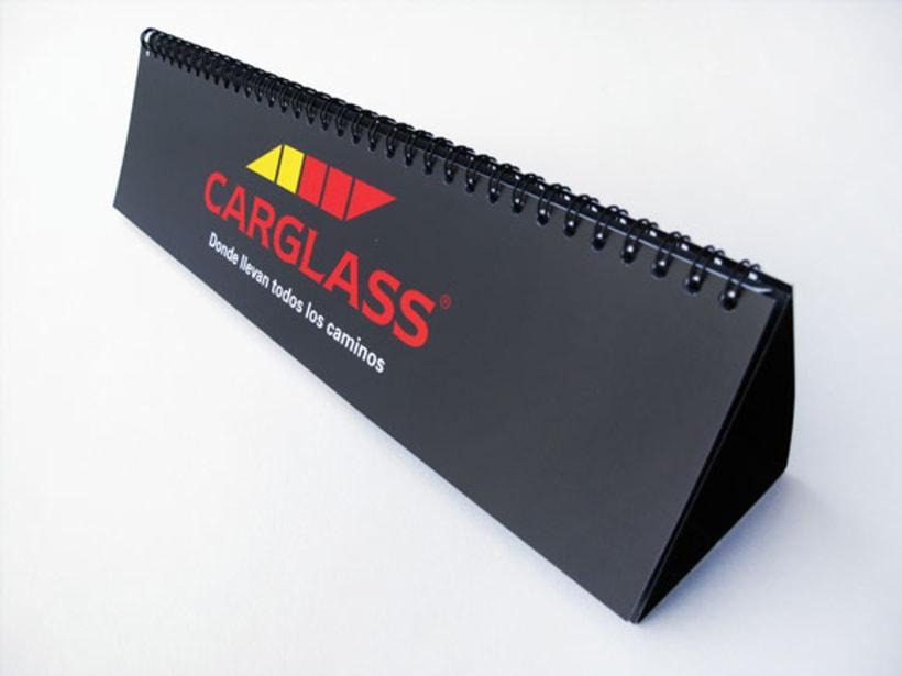 Calendario de oficina CARGLASS 2