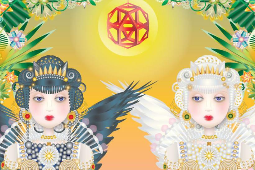 Ajedrez: Dama blanca y dama negra 2