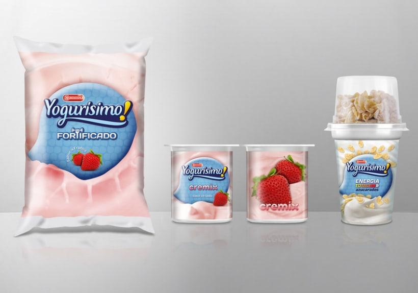 Yogurísimo - Bocetos para theLINE 1