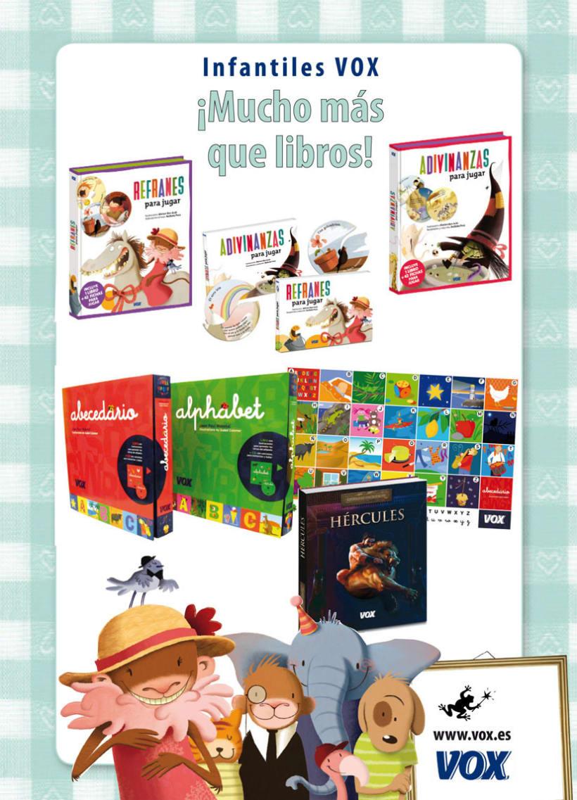 Publicidad           LAROUSSE & VOX 9