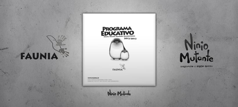 Faunia: Programa Educativo 2012-2013 2