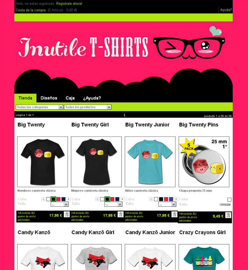 Inutile T-SHIRTS 1