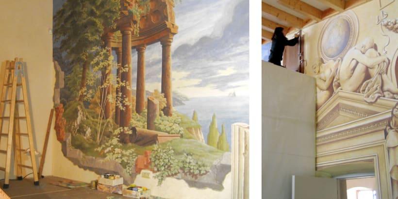 Mural en casa particular 2