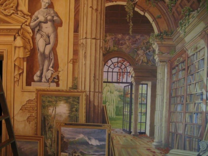 Mural en casa particular 3
