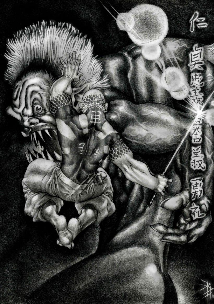 Ilustración tradicional 3