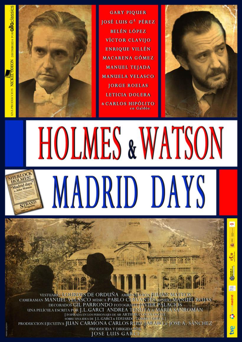 Cartel Largometraje HOLMES & WATSON MADRID DAYS 1