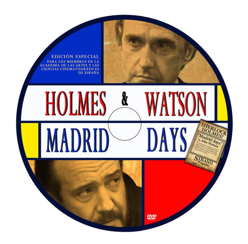 Cartel Largometraje HOLMES & WATSON MADRID DAYS 3