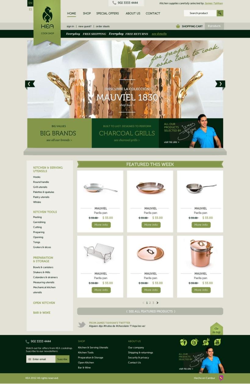 Kea - Tienda online 3