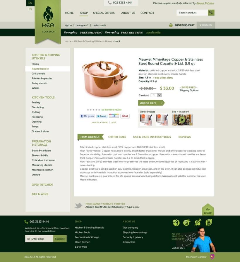 Kea - Tienda online 4