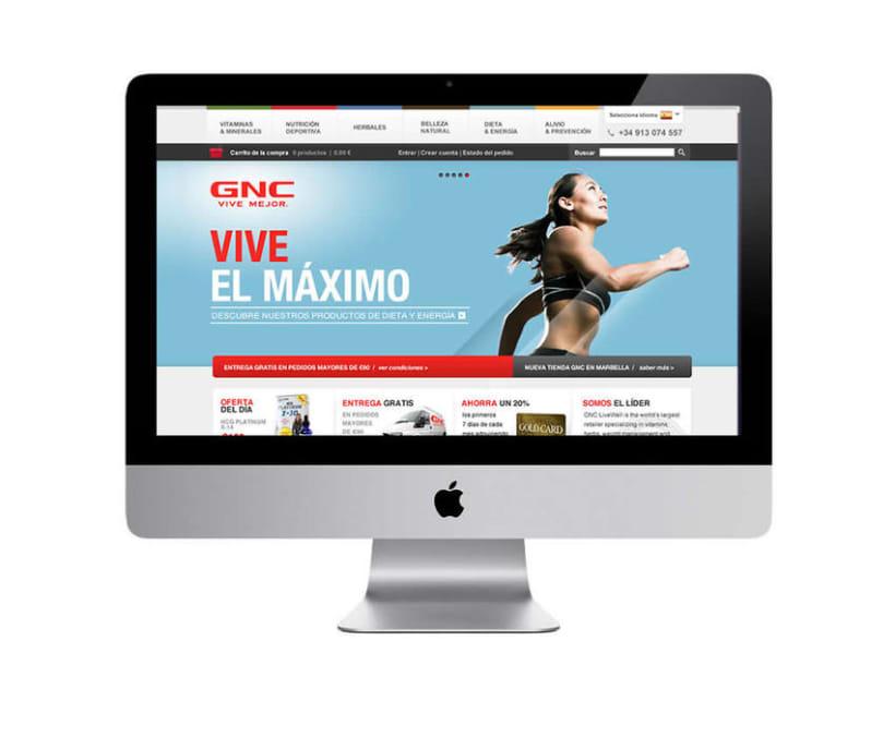 GNC España - Tienda online 2