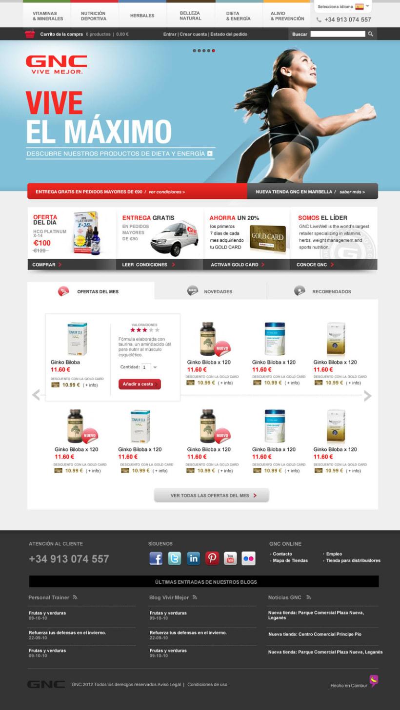 GNC España - Tienda online 3